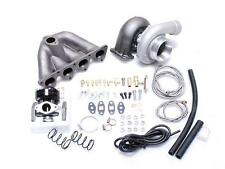 CIVIC INTEGRA B16 B18 EG EK EF DC2 GT35 T3 TOP MOUNT MANIFOLD TURBO CHARGER KIT