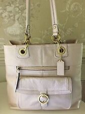 "Lovely Coach ""Penelope"" Pink Pearl Leather Handbag  - Original Retail $458 - NWT"
