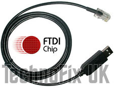 FTDI USB data cable for Current Cost EnviR power monitor/meter Windows 10 ready