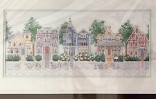 Dimensions Victorian Houses Counted Cross Stitch Nancy Rossi Sealed New 1988 VTG