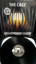 Anti-Nowhere League The Cage  Vinyl LP Punk Rock Girl God Bless Alcohol Cowboys