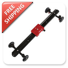 "Kamerar SD-1 Camera Slider Dolly Track Video Stabilizer 60cm/23"" w/Tripod Mount"