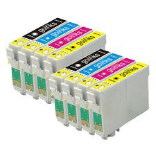8 Cartucce d'Inchiostro (Set) per Epson Stylus SX130 SX420W SX430W SX440W
