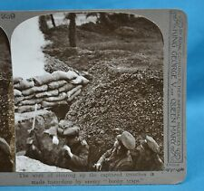 WW1 Stereoview Work To Clear Captured Trenches Booby Traps Realistic Travels