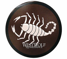 Round Greek Wooden SCORPION SHIELD -- sca/larp/spartan/armor/roman/troy/greece