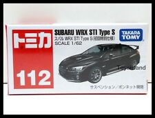 TOMICA #112 SUBARU WRX STI TYPE S 1/62 TOMY 2015 JULY NEW MODEL First edition
