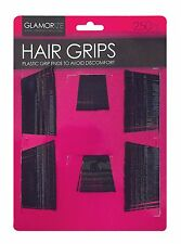 250PK HAIR GRIPS CLIPS BOBBY PINS KIRBY CLAMPS SALON WAVED SLIDES HAIRDRESSING