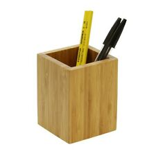 Bamboo Pen Holder Pencil Pot