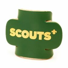 Scout Section Woggle Green