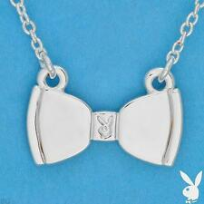 Playboy Necklace Bunny Bow Tie Pendant Charm White Trash Charm WTC WTC4PB HTF