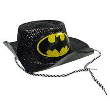 BATGIRL Cappello Costume Batman Costume Da Donna Nero Glitter Vestito