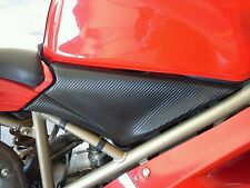 Carbon Fiber 3M Wrap Mod for Ducati 748 916 996 998 Mid Intake Airbox Air Box