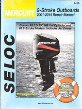 2001-2014 Mercury Outboard 2-Stroke 2.5-250 HP Seloc Repair Service Manual 0675