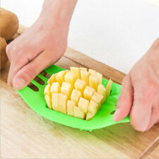 1PC Hot French Fry Potato Chip Cut Cutter Vegetable Fruit Slicer Chopper Kitchen