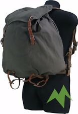 WWII SWEDISH ARMY M39 CANVAS BACKPACK RUCKSACK GENUINE MILITARY THE WALKING DEAD