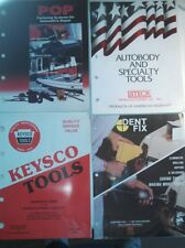 Autobody small tool literature lot Pop Unispotter,Steck Master Dent Fix