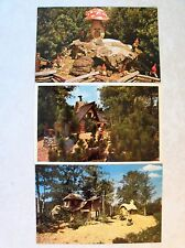 FL BUSCH GARDENS ATTRACTION LEPRECHAUN LANE BIG BAD WOLF+ POSTCARD LOT FLORIDA i