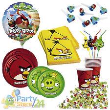 Angry Birds Kindergeburtstag 8 Personen Geburtstag Party Set Deko Kinderparty