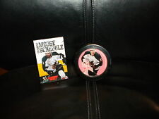 AHL MANITOBA MOOSE HOCKEY  PUCK AND POCKET SCHEDULE