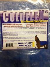 Coldflex Self Cooling Equine Therapy Blanket Horse Barrel Racing