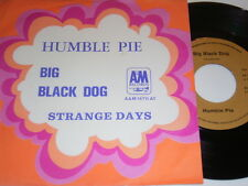 "7"" -  Humble Pie Big Black Dog & Strange Says - Dutch 1970 # 4771"