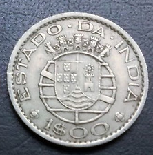 Portuguese india - 1 Escudo (buyer will get 1 coin )