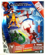 "MARVEL UNIVERSE Spider-man ULTIMATE GIFTSET CARNAGE SCORPION HOBGOBLIN 3.75"" NEW"
