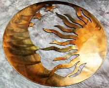 The Moon, the Sun and the Stars Metal Wall Art--Genesis Series 17""