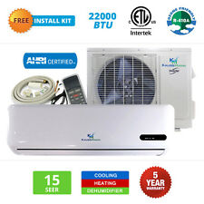 22000 BTU Mini Split Air Conditioner & Ductless Heat Pump Inverter AC Unit