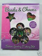 New KidShop Beads & Chains Fashion Jewelry Making Kit for ages5+:SHELLS