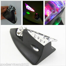 Black Shell Wind Power Aerial Shark Fin Auto Roof LED Decoration Flashing Light