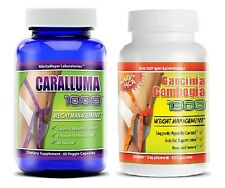 Pure Garcinia Cambogia 60% HCA and Caralluma Fimbriata 1000mg Combo Pack Diet