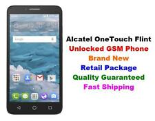 "Unlocked GSM Cricket AT&T T-Mobile Alcatel OneTouch Flint 4G 5.5"" Android 16GB"