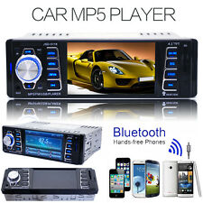 "4.1"" Bluetooth In Dash Car Radio Stereo MP3 MP5 PlayerFM/AM iPOD AUX USB SD"