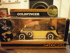 Corgi the directors cut james bond collection rolls royce de goldfinger