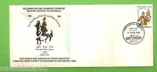 #D177. STAMPED ENVELOPE - 1st/15th ROYAL NEW SOUTH WALES LANCERS 1885-1985