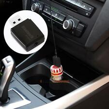 Car Wireless Bluetooth Music Audio Receiver 3.5mm A2DP Stereo Adapter Android