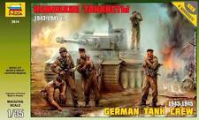 Zvezda         1:35 GERMAN TANK CREW 1943-45  ZVE3614