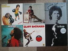 CLIFF RICHARD : 6 VINYL LP IM TOP ZUSTAND  SAMMLUNG / KONVOLUT