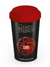 Game of Thrones House Targaryen Ceramic Travel Mug