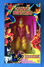 10 INCH DAREDEVIL YELLOW SUIT MARVEL UNIVERSE COMICS DELUXE FIGURE TOYBIZ 1997
