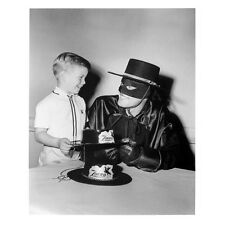 Guy Williams as Zorro Taking a Break with a Little Tike 8 x 10 inch photo