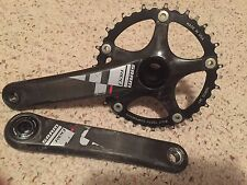 SRAM RED Road Bike Crankset, 177.5mm, 130bcd, BB30, wolf tooth 38t