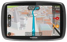"NEW - TomTom GO 600 w/ 6"" Touchscreen Portable Vehicle GPS and Lifetime Maps"