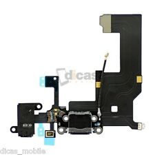 Cable Flex Conector Dock de Carga Para iPhone 5 USB Jack Original Charge Negro