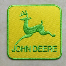 JOHN DEERE LOGO EMBROIDERY IRON ON PATCH BADGE