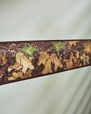 Mossy Oak Leaf Camo Wall Border Hunting Camouflage Cabin Peel & Stick Vinyl Art