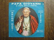 DIVERS LE PAPE JEAN XXIII 45 TOURS ITALIE