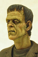 """YAGHER SCULPT """"GOGOS"""" STYLE FRANKENSTEIN RESIN REPLACEMENT HEAD FOR MOEBIUS KIT"""