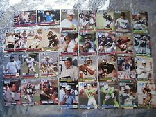 WORLD LEAGUE SET 1991 PRO SET 32 Football Collectible Cards